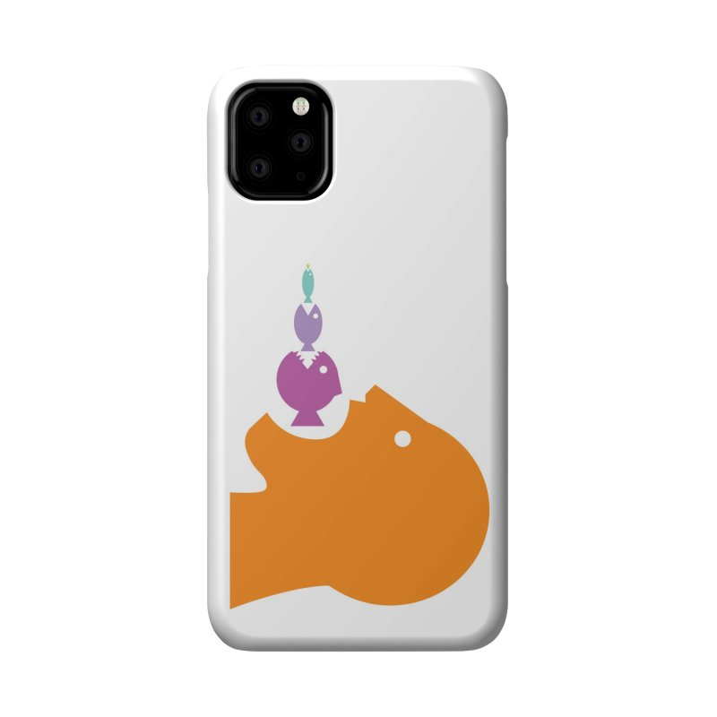The Survival of the Fittest – Food Chain Edition. Accessories Phone Case by Sidewise Clothing & Design