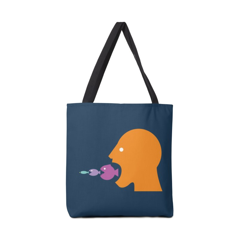 The Survival of the Fittest – Food Chain Edition. Accessories Bag by Sidewise Clothing & Design