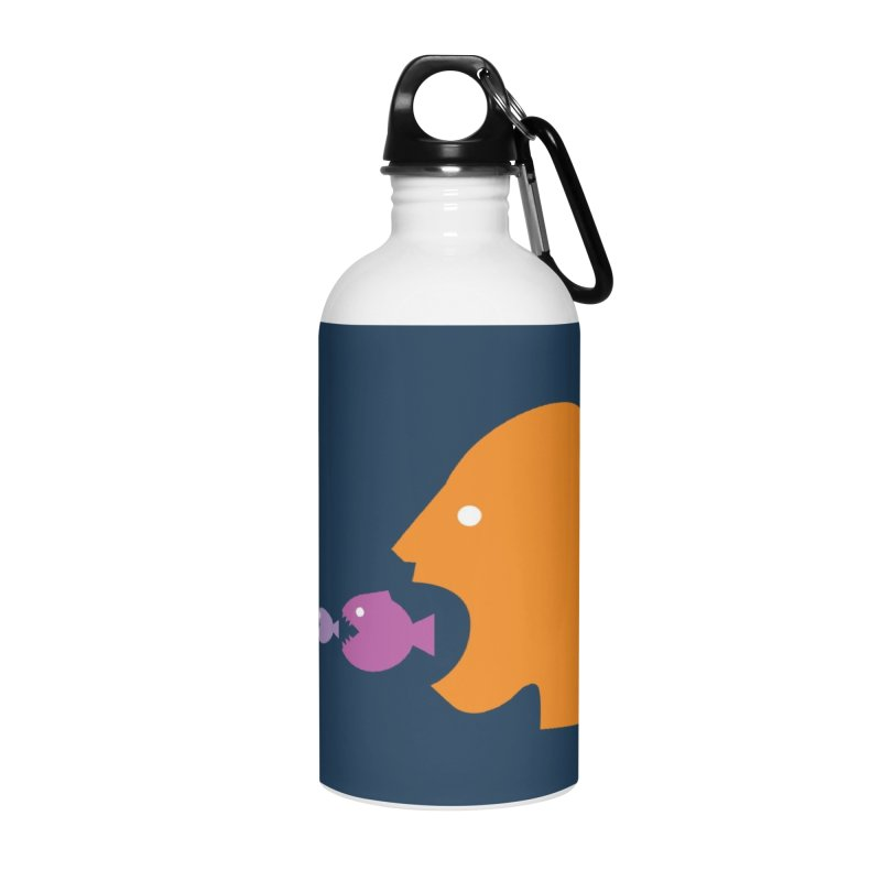 The Survival of the Fittest – Food Chain Edition. Accessories Water Bottle by Sidewise Clothing & Design