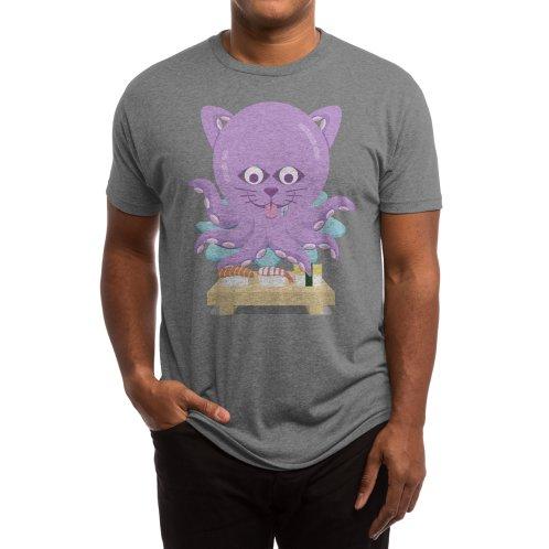 image for NekoTako, the Cat Wannabe Octopus, Loves Sushi.