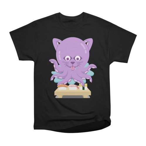 image for NekoTako, the Cat Wannabe Octopus, Loves Sushi.
