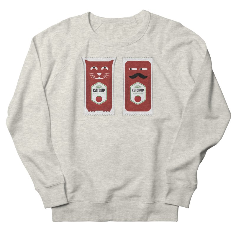 Catsup vs Ketchup Women's Sweatshirt by Sidewise Clothing & Design