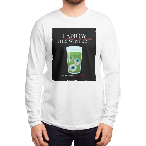 image for Halloween Poster Parody – I Know What You Drink This Winter