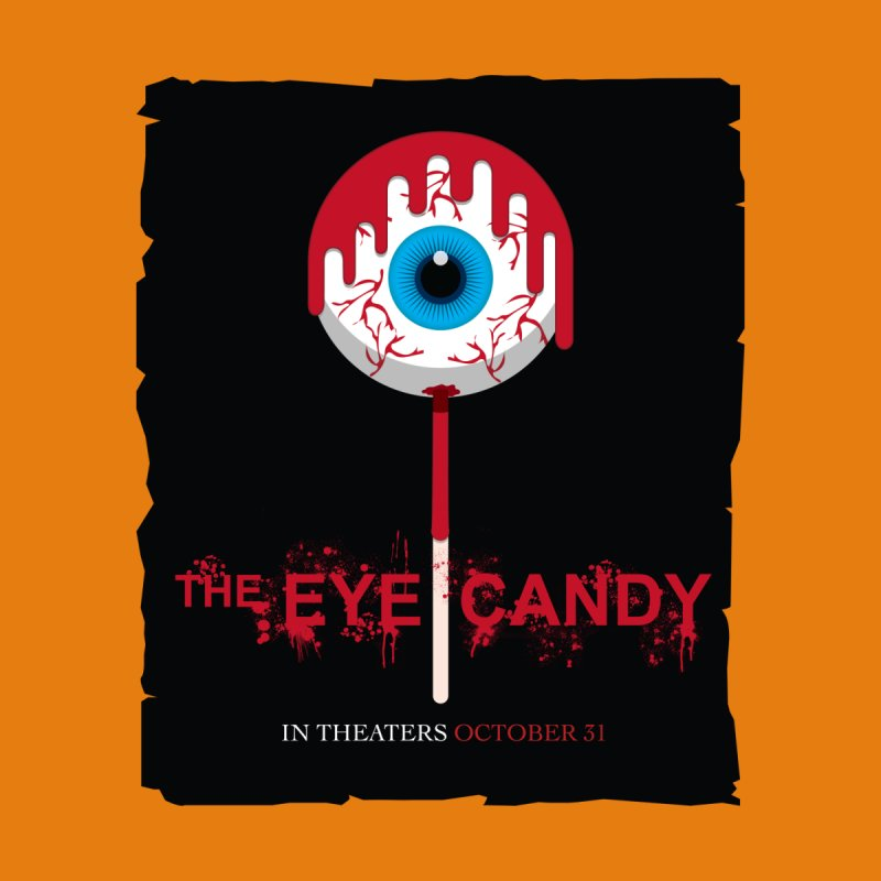 Halloween Movie Poster Parody – The Eye Candy Men's Longsleeve T-Shirt by Sidewise Clothing & Design