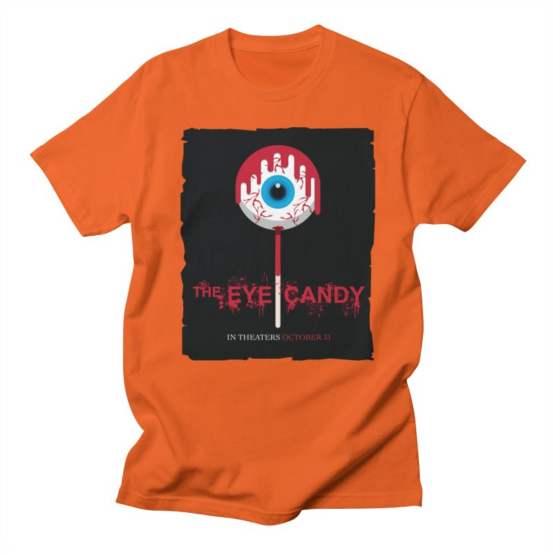 Halloween Movie Poster Parody – The Eye Candy Women's Regular Unisex T-Shirt by Sidewise Clothing & Design