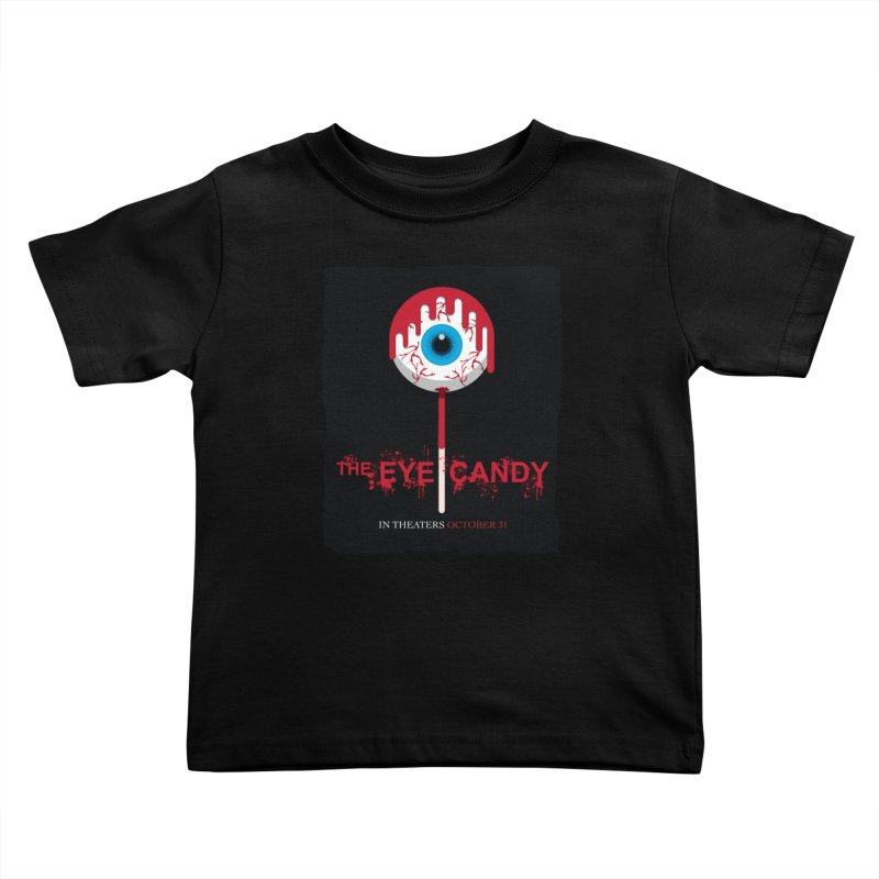 Halloween Movie Poster Parody – The Eye Candy Kids Toddler T-Shirt by Sidewise Clothing & Design