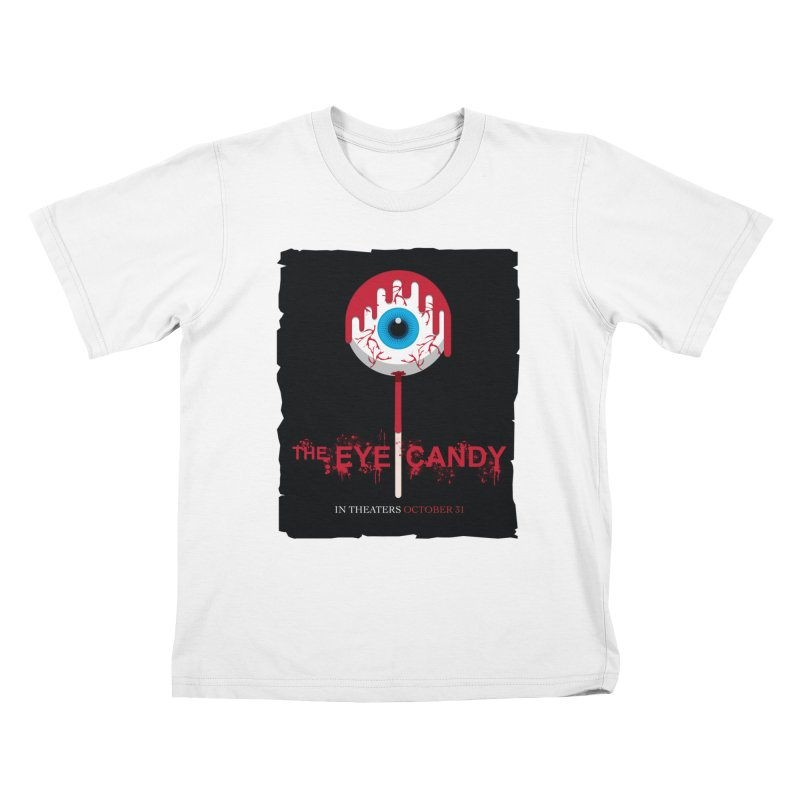 Halloween Movie Poster Parody – The Eye Candy Kids T-Shirt by Sidewise Clothing & Design