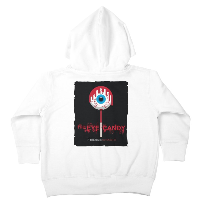 Halloween Movie Poster Parody – The Eye Candy Kids Toddler Zip-Up Hoody by Sidewise Clothing & Design
