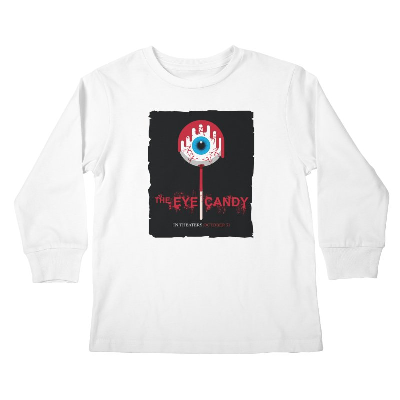 Halloween Movie Poster Parody – The Eye Candy Kids Longsleeve T-Shirt by Sidewise Clothing & Design