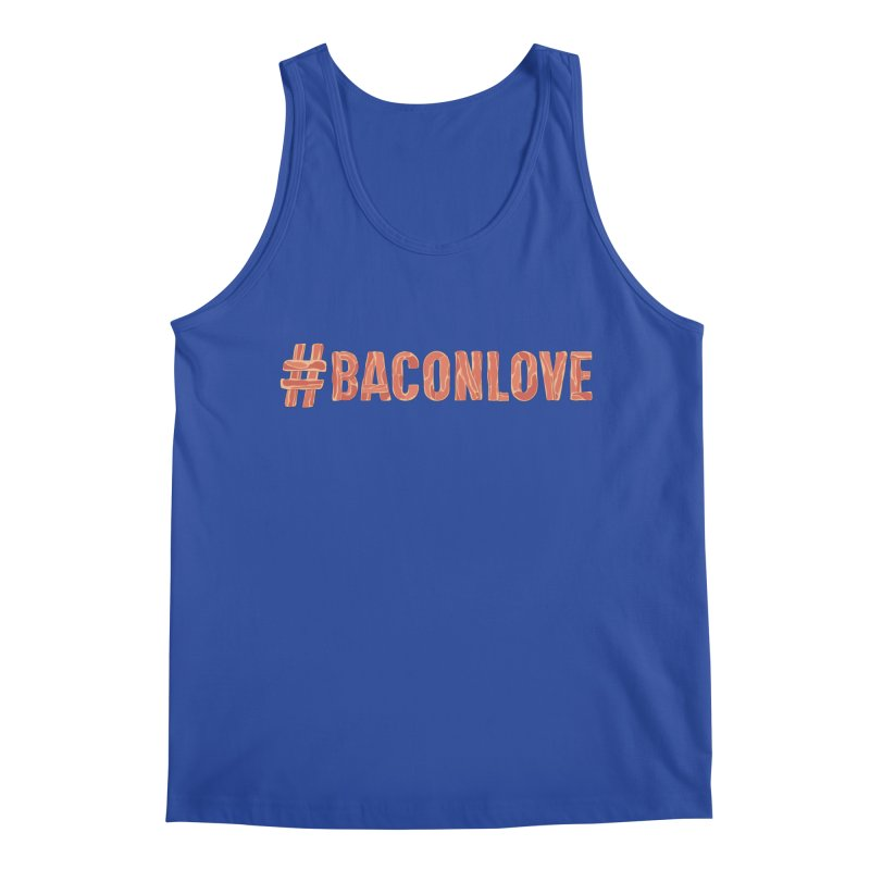 #BaconLove T-Shirt Men's Tank by Sidewise Clothing & Design