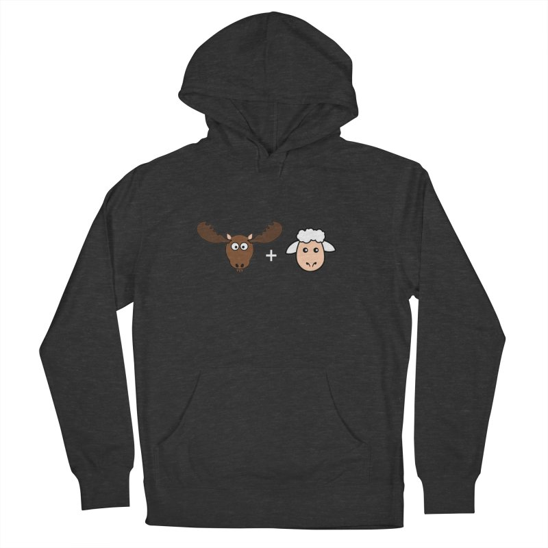 Moose + Lamb Men's French Terry Pullover Hoody by sidroos's store