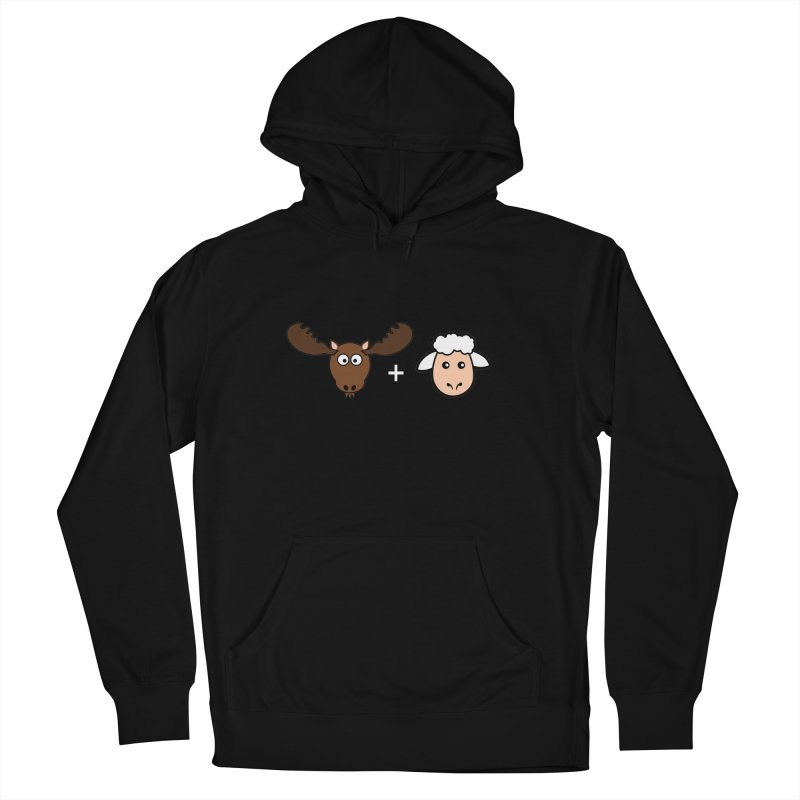 Moose + Lamb Men's Pullover Hoody by sidroos's store