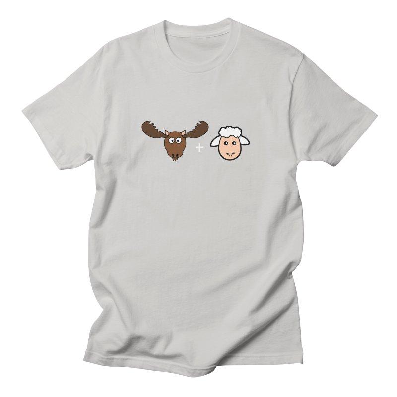 Moose + Lamb Men's Regular T-Shirt by sidroos's store