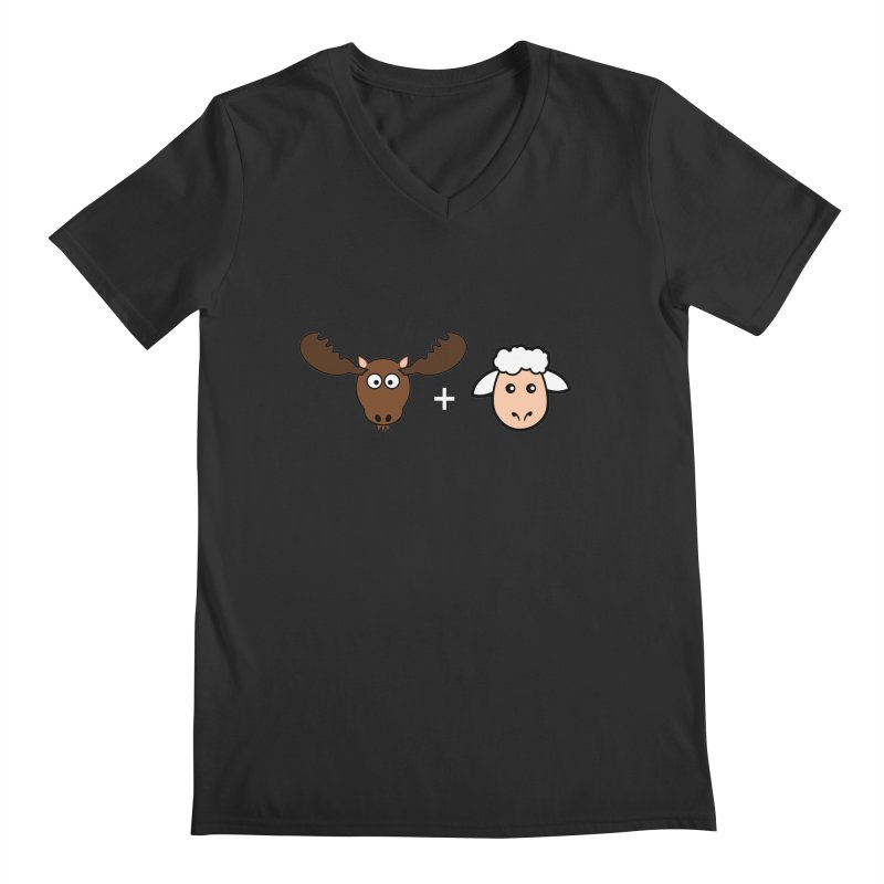 Moose + Lamb Men's V-Neck by sidroos's store