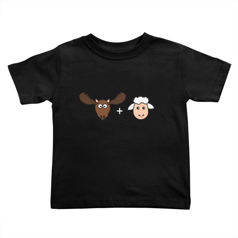 Moose + Lamb Kids Toddler T-Shirt by sidroos's store