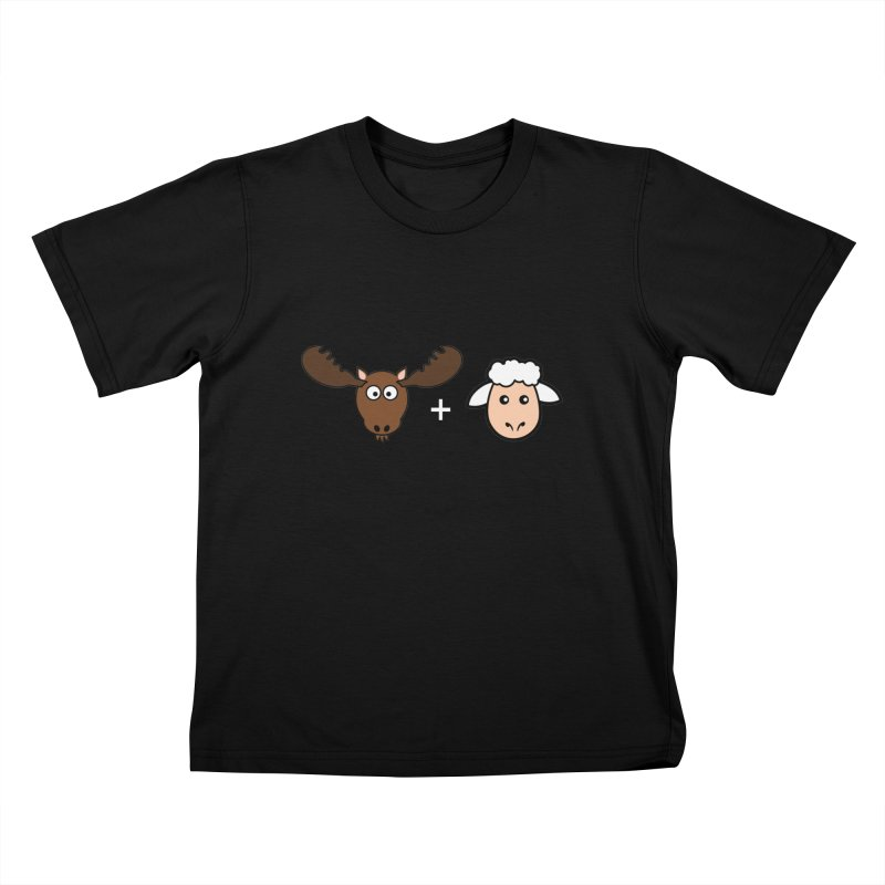 Moose + Lamb Kids T-Shirt by sidroos's store