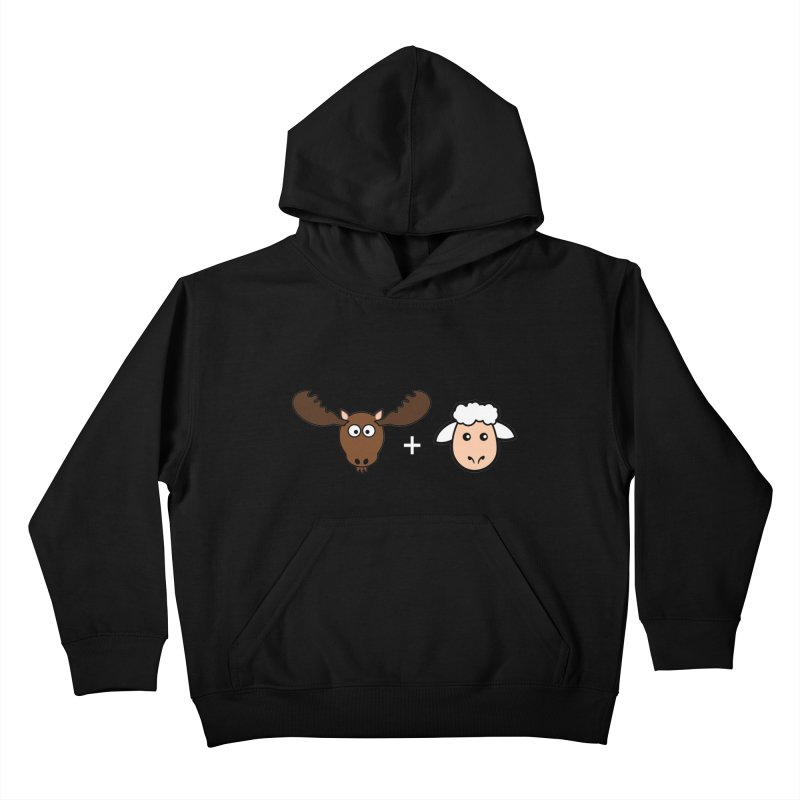 Moose + Lamb Kids Pullover Hoody by sidroos's store