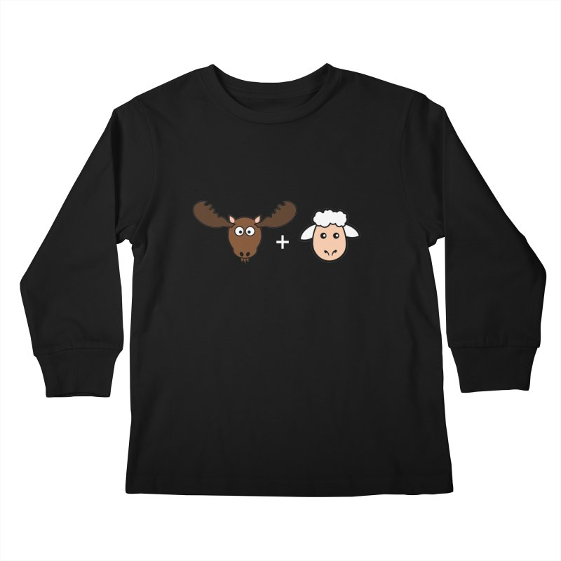 Moose + Lamb Kids Longsleeve T-Shirt by sidroos's store