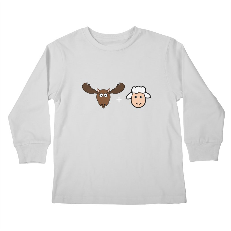 Moose + Lamb Kids Longsleeve T-Shirt by sidroos's store