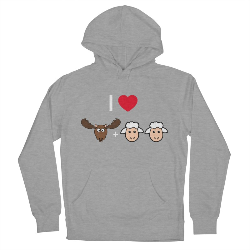 I LOVE MOOSE LAMBS Men's Pullover Hoody by sidroos's store