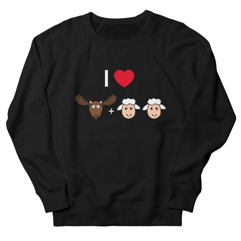 I LOVE MOOSE LAMBS Men's Sweatshirt by sidroos's store