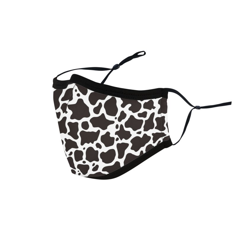Cow pattern Accessories Face Mask by sifis's shop