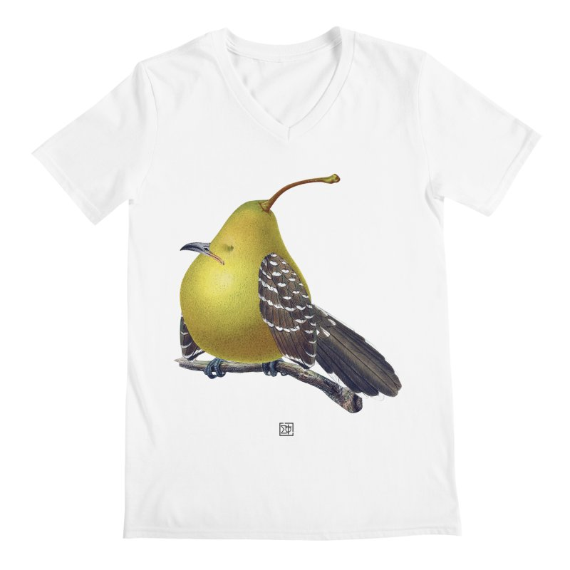 The Pear-rot Men's V-Neck by sigmablade collage
