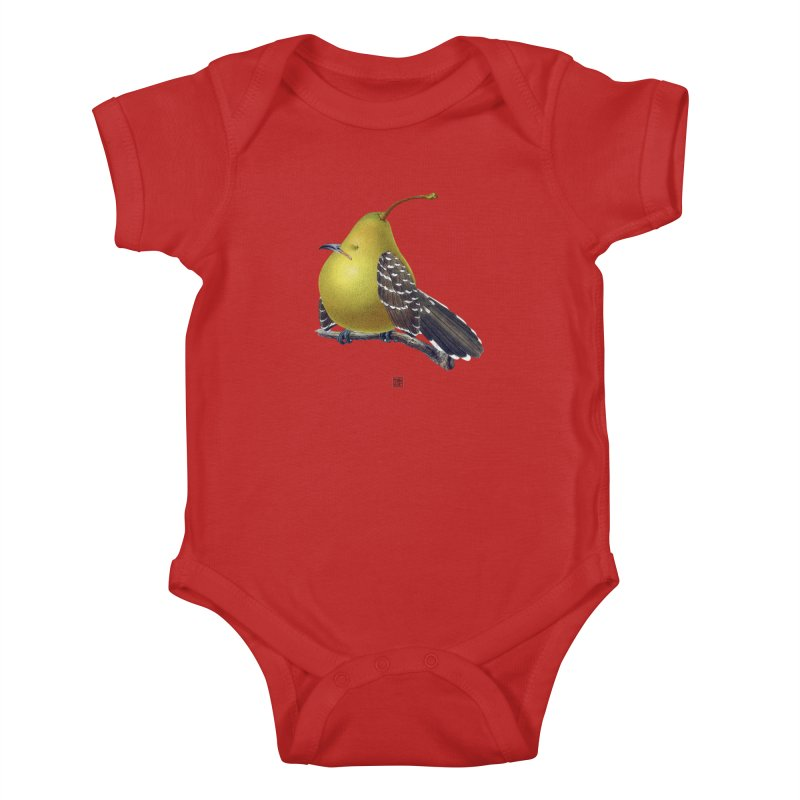 The Pear-rot Kids Baby Bodysuit by sigmablade collage