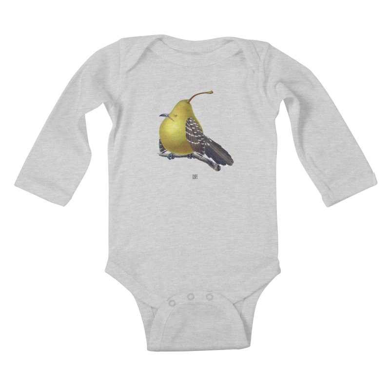 The Pear-rot Kids Baby Longsleeve Bodysuit by sigmablade collage