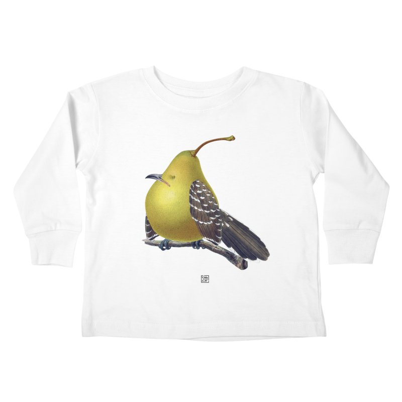 The Pear-rot Kids Toddler Longsleeve T-Shirt by sigmablade collage