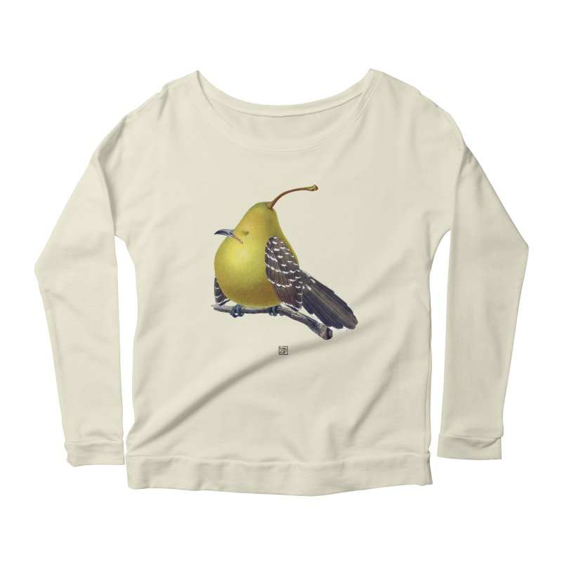 The Pear-rot Women's Longsleeve Scoopneck  by sigmablade collage