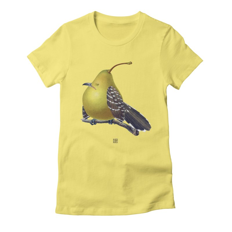The Pear-rot Women's Fitted T-Shirt by sigmablade collage