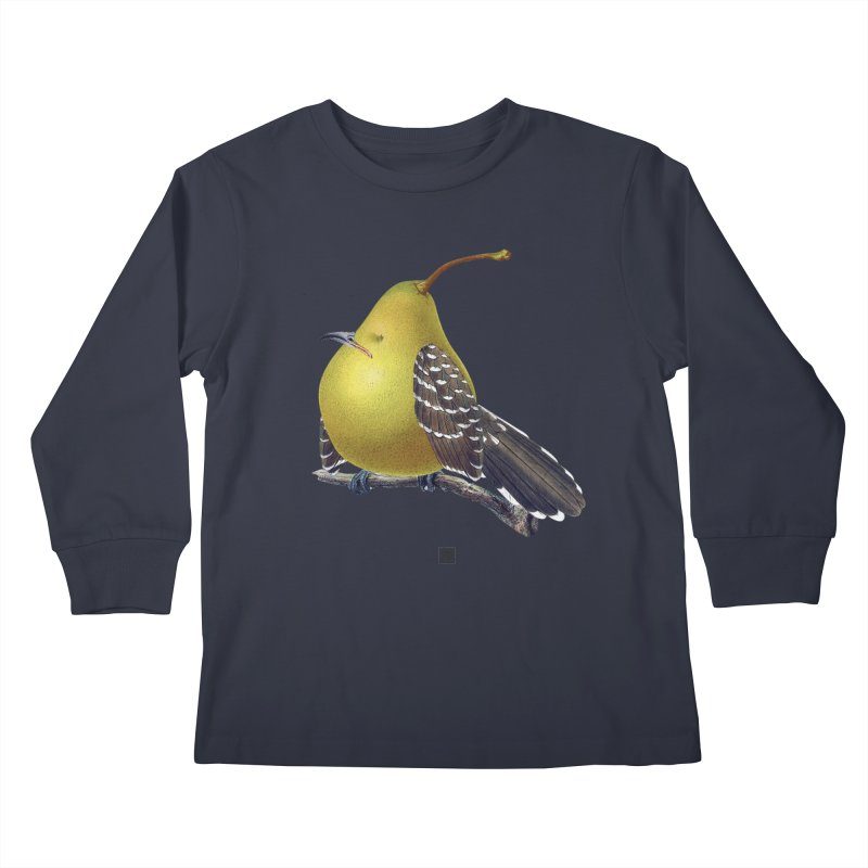 The Pear-rot Kids Longsleeve T-Shirt by sigmablade collage