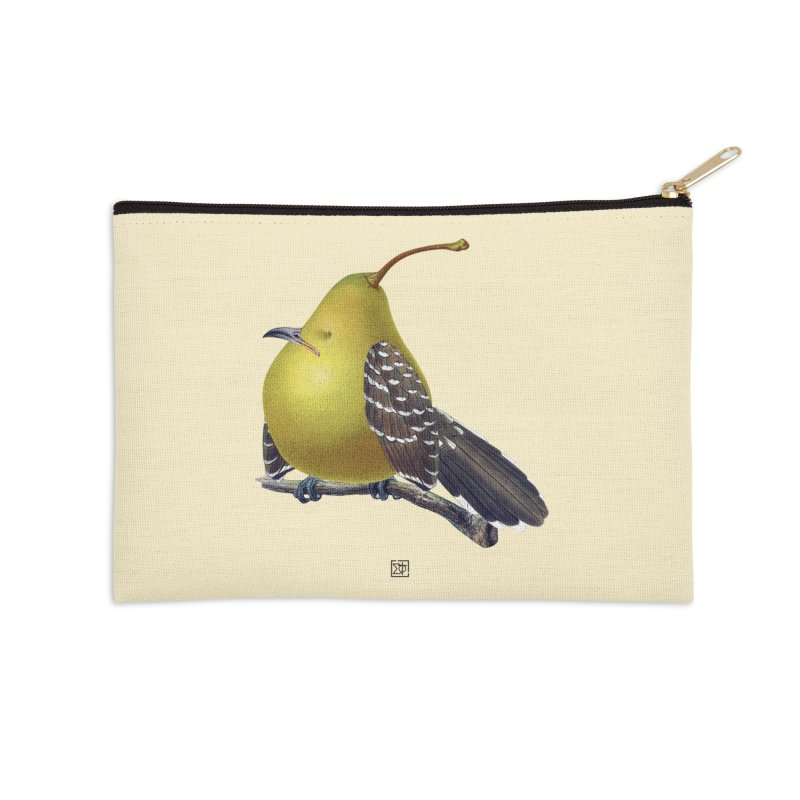 The Pear-rot Accessories Zip Pouch by sigmablade collage