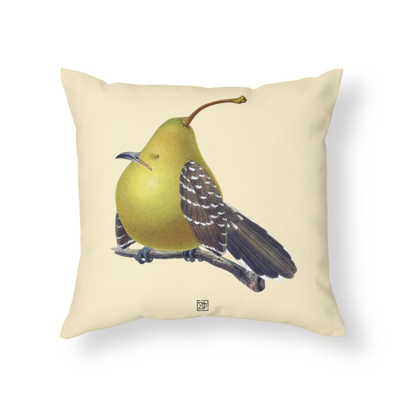 The Pear-rot Home Throw Pillow by sigmablade collage