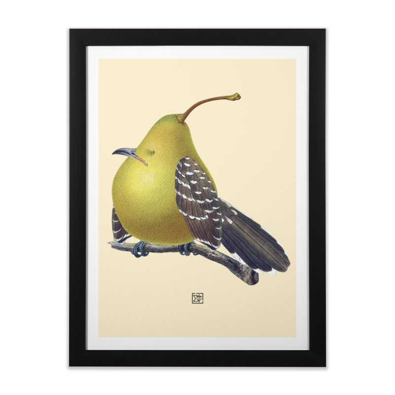 The Pear-rot Home Framed Fine Art Print by sigmablade collage