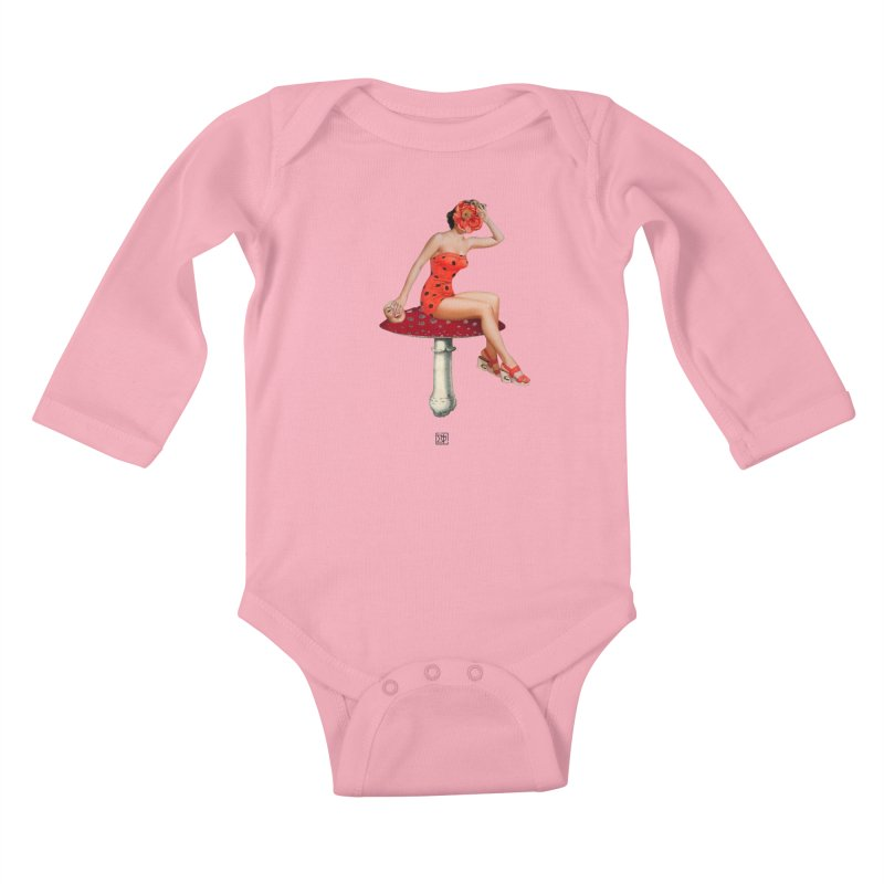 Beautiful Inside Out Kids Baby Longsleeve Bodysuit by sigmablade collage