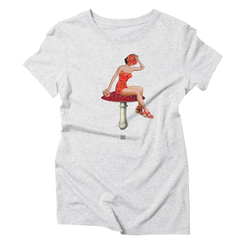 Beautiful Inside Out Women's T-Shirt by sigmablade collage
