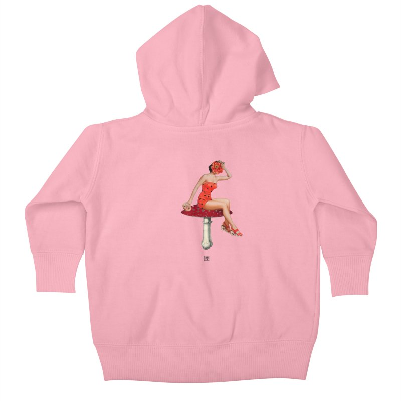Beautiful Inside Out Kids Baby Zip-Up Hoody by sigmablade collage