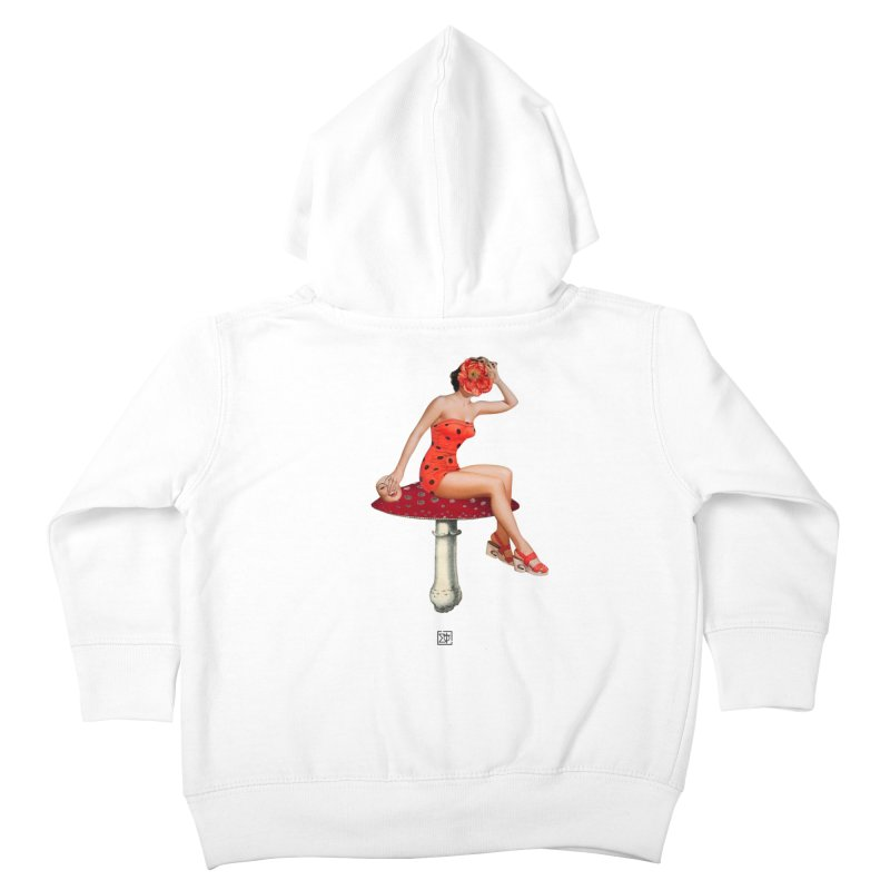 Beautiful Inside Out Kids Toddler Zip-Up Hoody by sigmablade collage