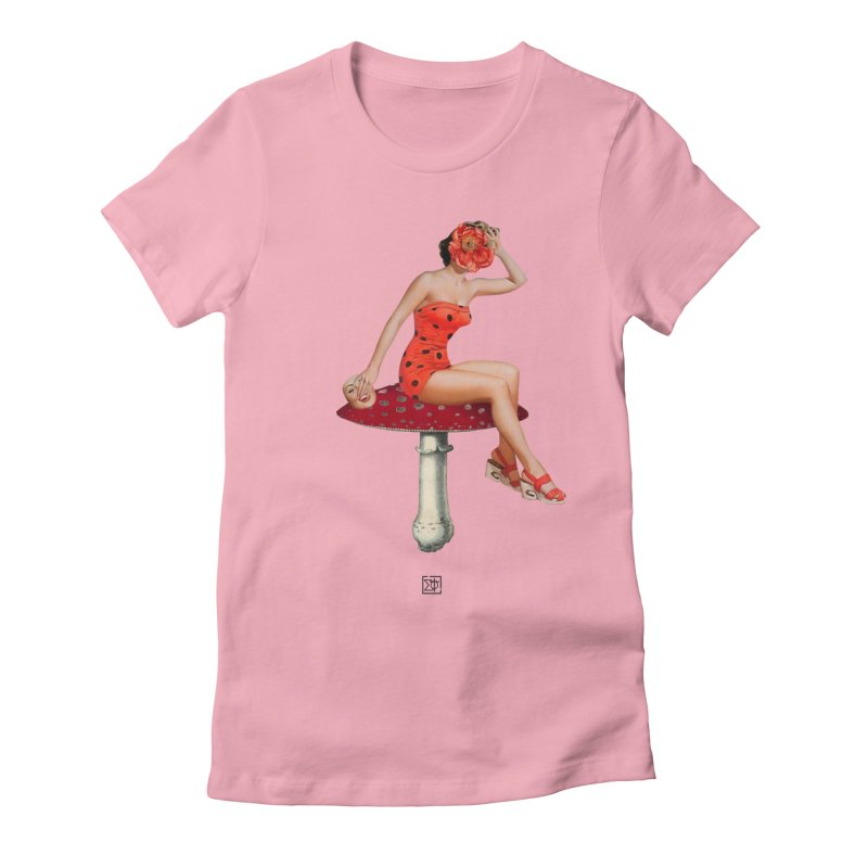 Beautiful Inside Out Women's Fitted T-Shirt by sigmablade collage