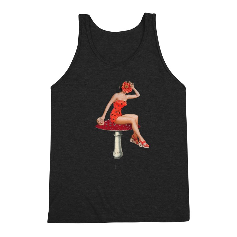 Beautiful Inside Out Men's Triblend Tank by sigmablade collage