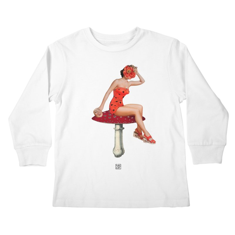 Beautiful Inside Out Kids Longsleeve T-Shirt by sigmablade collage