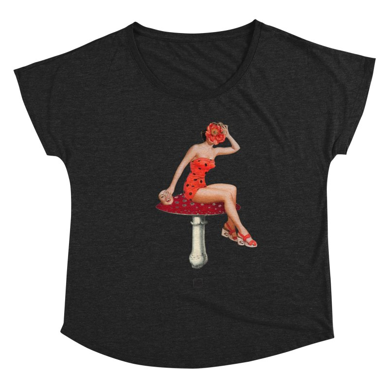 Beautiful Inside Out Women's Scoop Neck by sigmablade collage