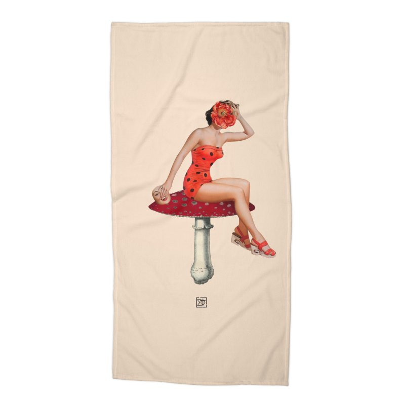 Beautiful Inside Out Accessories Beach Towel by sigmablade collage