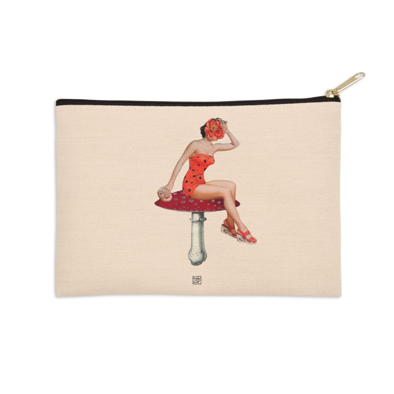 Beautiful Inside Out Accessories Zip Pouch by sigmablade collage