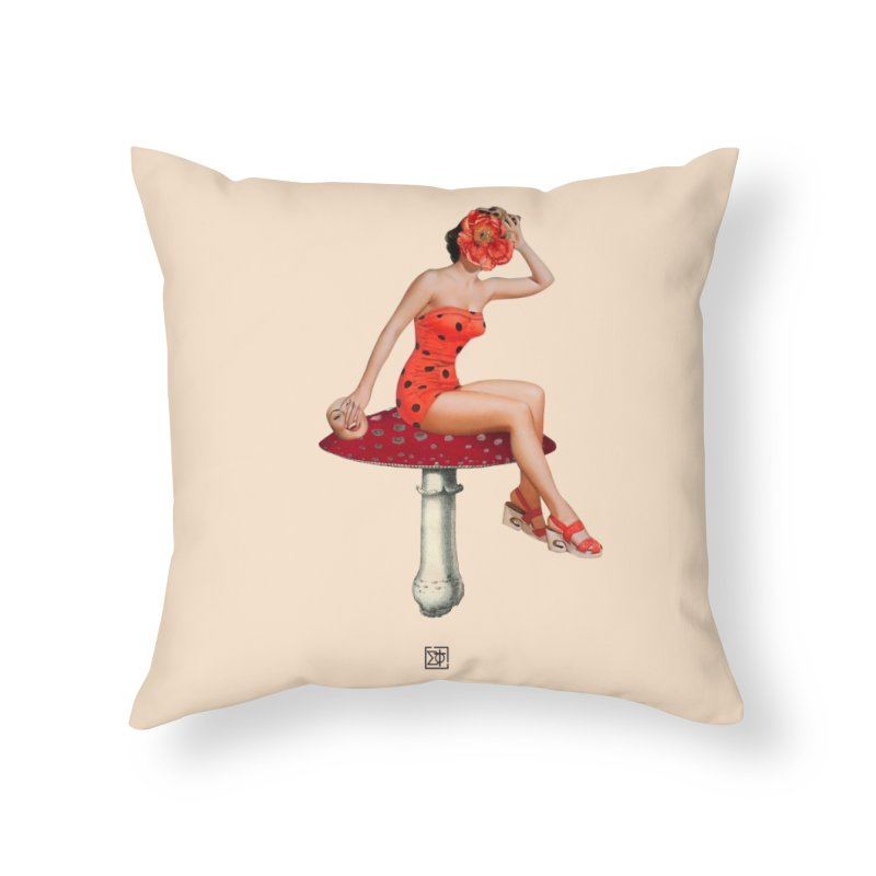 Beautiful Inside Out Home Throw Pillow by sigmablade collage