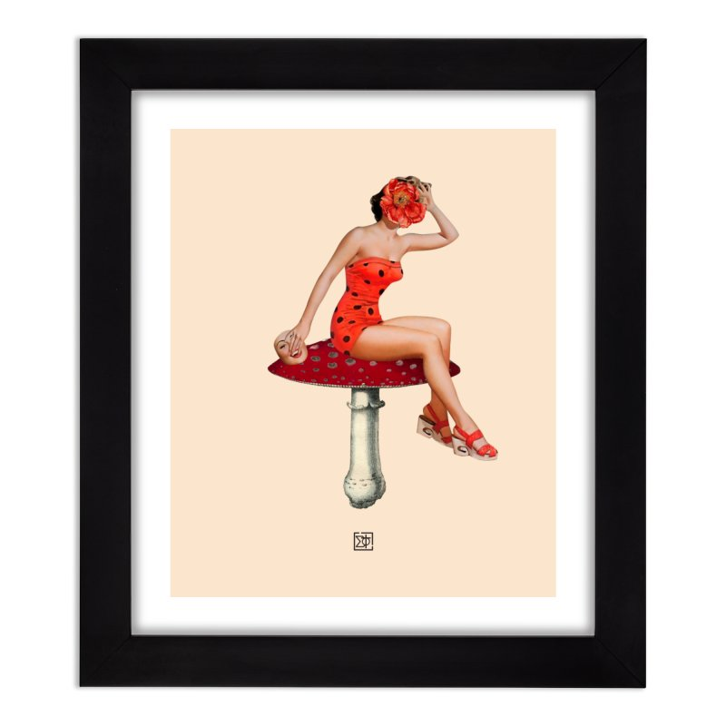 Beautiful Inside Out Home Framed Fine Art Print by sigmablade collage