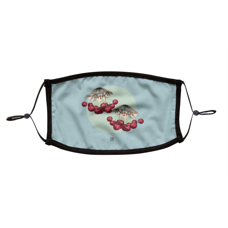 Cherryfish Accessories Face Mask by sigmablade collage