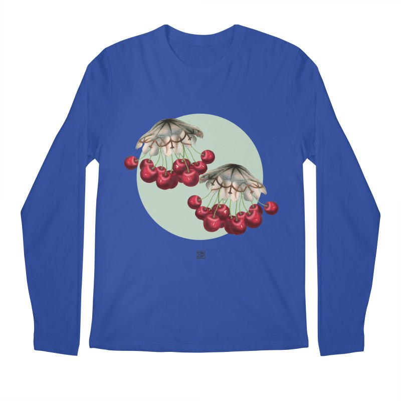 Cherryfish Men's Regular Longsleeve T-Shirt by sigmablade collage